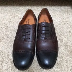 Robert Wayne Sz 9.5 Men's Utah derby lace up shoes